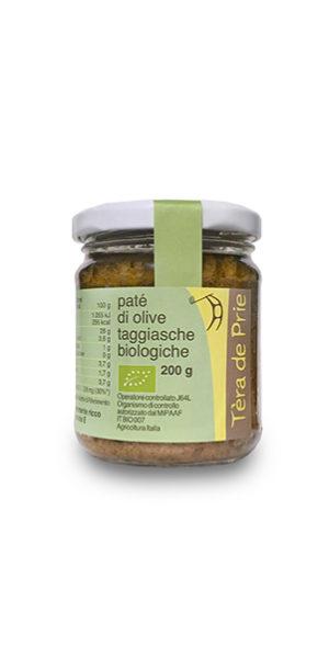 Paté di olive taggiasche biologico
