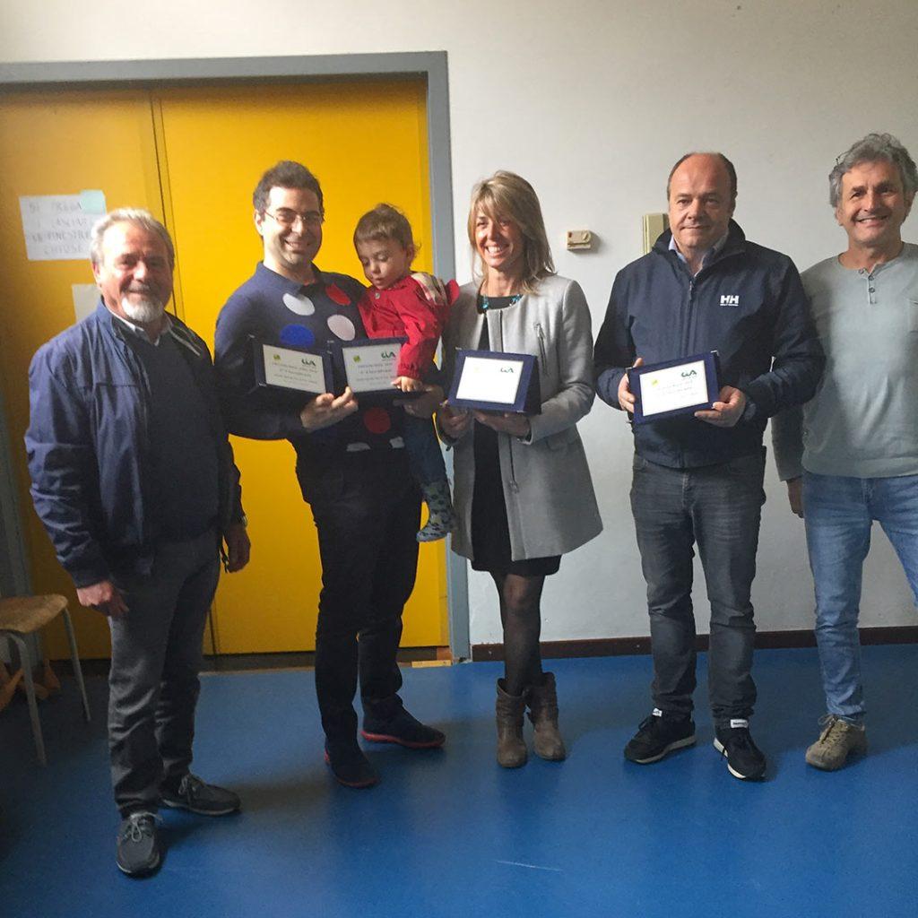 Premio Biol Liguria i vincitori