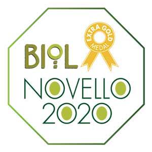 Premio extra gold biolnovello migliore olio extra vergine 2020 2021