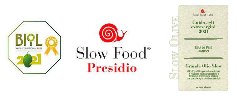 Due grandi riconoscimenti, Biol e Slow Food